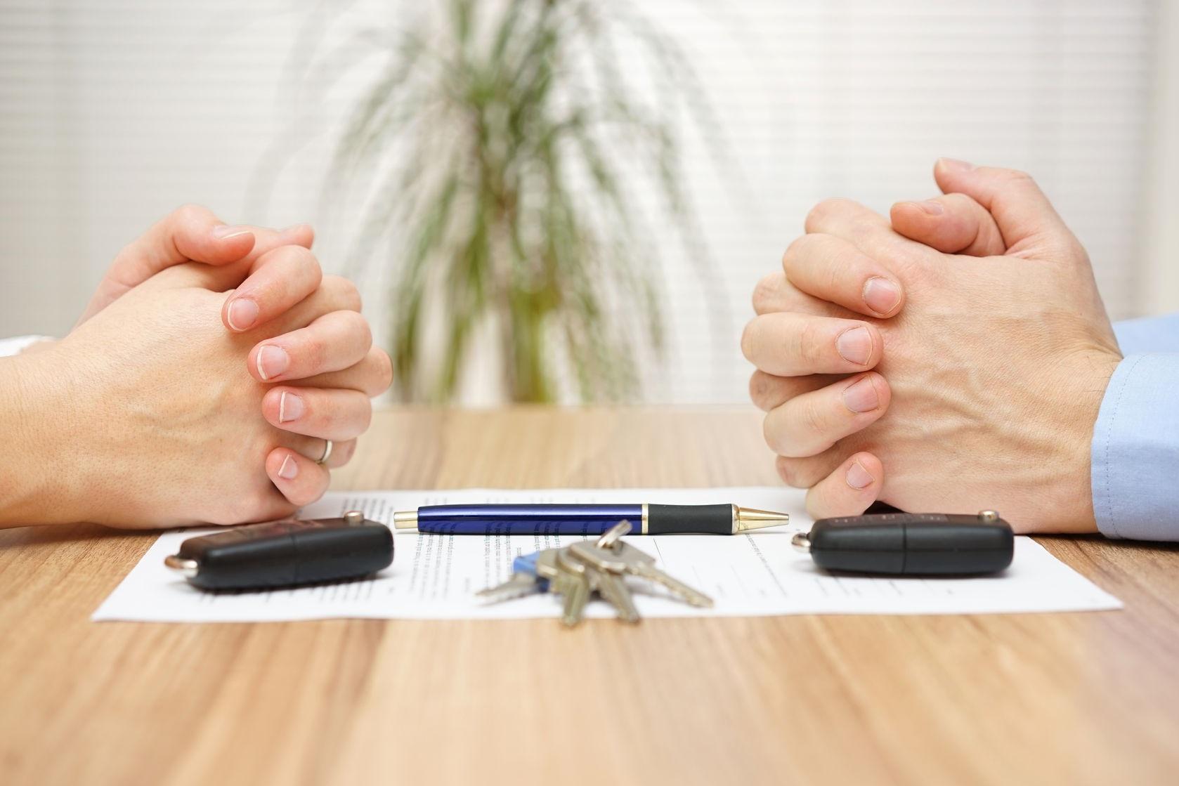 Раздел имущества супругов- юридическая помощь