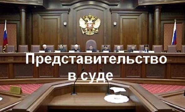predstavitelstvo v sude